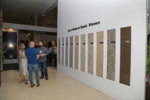 Projeto Lynx Stands | Estande Guidoni: 45ª Feira Internacional do Mármore e Granito